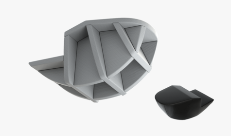 Sellette Axess 4-protecteur Air-Foam