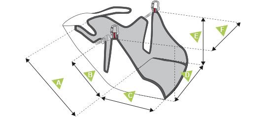Access Airbag-schema mesures