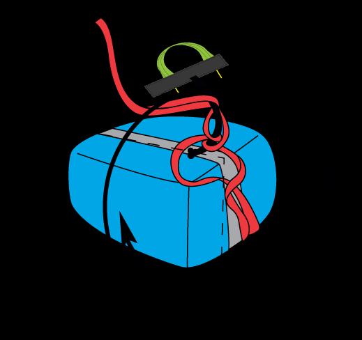 Evo XC3-poche parachute